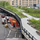 Zelený bunkr v Hamburku - High Line Park 2