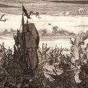 Pirátskou baštu Port Royal pohltilo tsunami - henry-morgan-spanish-fleet