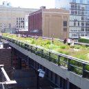 Zelený bunkr v Hamburku - High Line Park