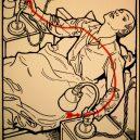 Elektřina a my. Bizarní způsoby, kterými vás mohl zabít elektrický proud - vintage-illustrations-ways-to-die-electrocution-1-5bf269496af4a__700