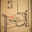 Elektřina a my. Bizarní způsoby, kterými vás mohl zabít elektrický proud - vintage-illustrations-ways-to-die-electrocution-10-5bf26960c39d3__700