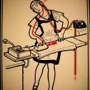 Elektřina a my. Bizarní způsoby, kterými vás mohl zabít elektrický proud - vintage-illustrations-ways-to-die-electrocution-11-5bf26962ea265__700