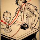 Elektřina a my. Bizarní způsoby, kterými vás mohl zabít elektrický proud - vintage-illustrations-ways-to-die-electrocution-12-5bf2696603c51__700