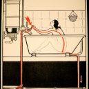 Elektřina a my. Bizarní způsoby, kterými vás mohl zabít elektrický proud - vintage-illustrations-ways-to-die-electrocution-16-5bf26970bd3c6__700