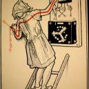 Elektřina a my. Bizarní způsoby, kterými vás mohl zabít elektrický proud - vintage-illustrations-ways-to-die-electrocution-19-5bf26978e1ca5__700