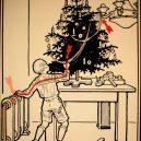 Elektřina a my. Bizarní způsoby, kterými vás mohl zabít elektrický proud - vintage-illustrations-ways-to-die-electrocution-2-5bf2694ba28e1__700