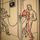 Elektřina a my. Bizarní způsoby, kterými vás mohl zabít elektrický proud - vintage-illustrations-ways-to-die-electrocution-20-5bf2697b1257b__700