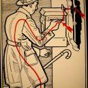 Elektřina a my. Bizarní způsoby, kterými vás mohl zabít elektrický proud - vintage-illustrations-ways-to-die-electrocution-21-5bf2697e071c7__700
