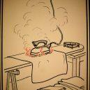 Elektřina a my. Bizarní způsoby, kterými vás mohl zabít elektrický proud - vintage-illustrations-ways-to-die-electrocution-26-5bf2698ac6a26__700