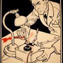 Elektřina a my. Bizarní způsoby, kterými vás mohl zabít elektrický proud - vintage-illustrations-ways-to-die-electrocution-27-5bf2698cecf54__700