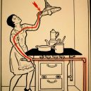 Elektřina a my. Bizarní způsoby, kterými vás mohl zabít elektrický proud - vintage-illustrations-ways-to-die-electrocution-3-5bf2694dc1b6f__700