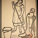 Elektřina a my. Bizarní způsoby, kterými vás mohl zabít elektrický proud - vintage-illustrations-ways-to-die-electrocution-30-5bf2699510405__700