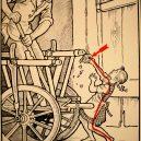 Elektřina a my. Bizarní způsoby, kterými vás mohl zabít elektrický proud - vintage-illustrations-ways-to-die-electrocution-6-5bf26954dcde0__700
