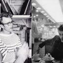 Deanův styl je nesmrtelný. Inspirujte se, nepotřebujete k tomu (skoro) nic - Pruhované triko, nebo outfit do kavárny?