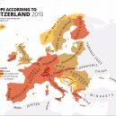 Evropa očima různých národů. Podívejte se na mapy plné stereotypů - 778b33c0c352f3991821a6aa2dc1e9c3