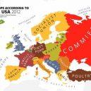 Evropa očima různých národů. Podívejte se na mapy plné stereotypů - e9139577abd5ede63f7f17c74c2d0eae
