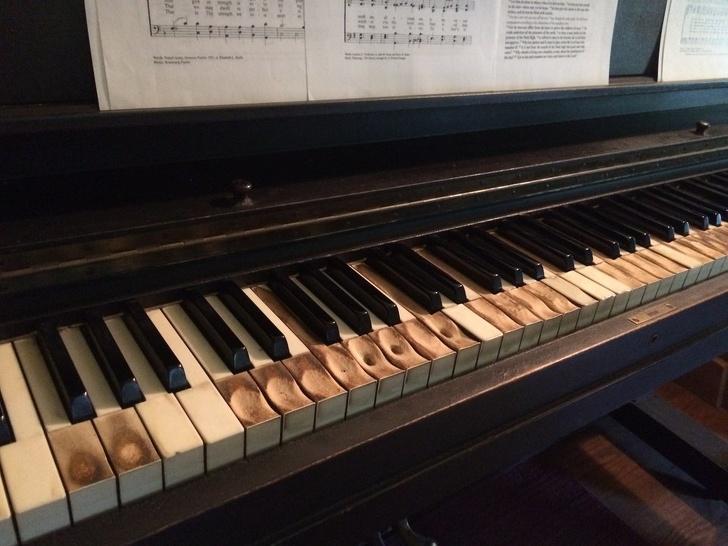 Ohrané piano.