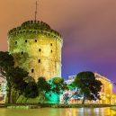 10 míst, které při návštěvě Řecka nesmíte v žádném případě vynechat - greece-thessaloniki-white-tower-evening