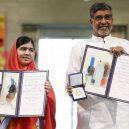Laureáti Nobelovy ceny za mír od roku 2009 do současnosti - Malala-satyarthi-nobel-award