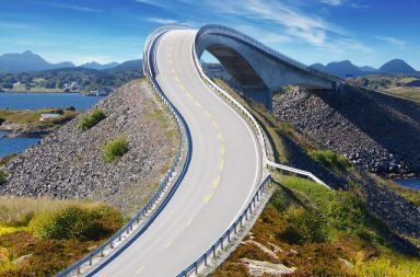 Atlantic Road, Norsko.