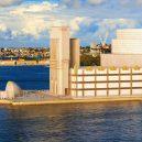 Proti jakým projektům stála v soutěži legendární Opera v Sydney? - u