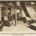 Tajný apartmán na vršku Eiffelovky byl soukromým hnízdem jejího konstruktéra - d6b6a711a1ff6c49e268a7c0814682fa