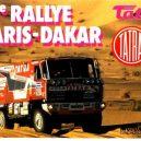 Legendární vítězství Karla Lopraise a jeho Tatry na Rallye Paříž-Dakar v roce 1988 - Dakarská-Tatra-na-letáku-k-Rallye-Dakar-1988