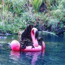 Podívejte se na vtipné fotografie smrtky u vody. Swim Reaper navíc slouží dobrému účelu - 58842288_971422536397130_4160974774610165760_n