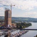 Mjøsa Tower se stala nejvyšší dřevěnou budovou světa. Je šetrná k přírodě a požáru dokáže odolávat až 90 minut - mjosa-tower-3-889×592