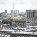 Zelená střecha pro symbol Paříže. Podívejte se na zajímavý návrh nové střechy katedrály Notre-Dame - nab-notre-dame-de-paris-1