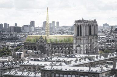 Takto si opravenou katedrálu Notre-Dame představují architekti z pařížského studia NAB.