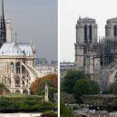 Zelená střecha pro symbol Paříže. Podívejte se na zajímavý návrh nové střechy katedrály Notre-Dame - notre-dame-before-after-fire