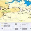 Inženýr Josef Rosenauer přišel v roce 1759 s geniálním plánem, jak zásobovat Vídeň dřevem přímo ze Šumavy - Turistická-mapa-pro-návštěvníky-plavebního-kanálu.-idnes
