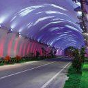 Fascinující záběry čínských dopravních staveb - 03 Zhongnan Mountain Highway Tunnel