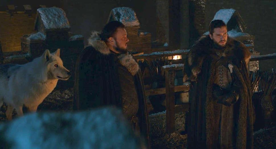 Jon Sníh se neukázal zrovna v nejlepším světle, když opustil svého dlouholetého a věrného přítele Ducha, a to bez jediného slova nebo pohlazení.