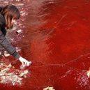 Peklo na zemi. Takhle vypadá život v znečištěné Číně - pollution-in-china-jianhe-river
