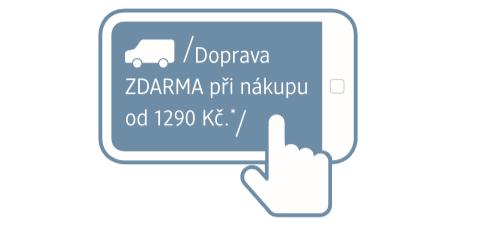 *Platí pro nákupy zákazníků zaregistrovaných a současně přihlášených v online shopu dm.cz.