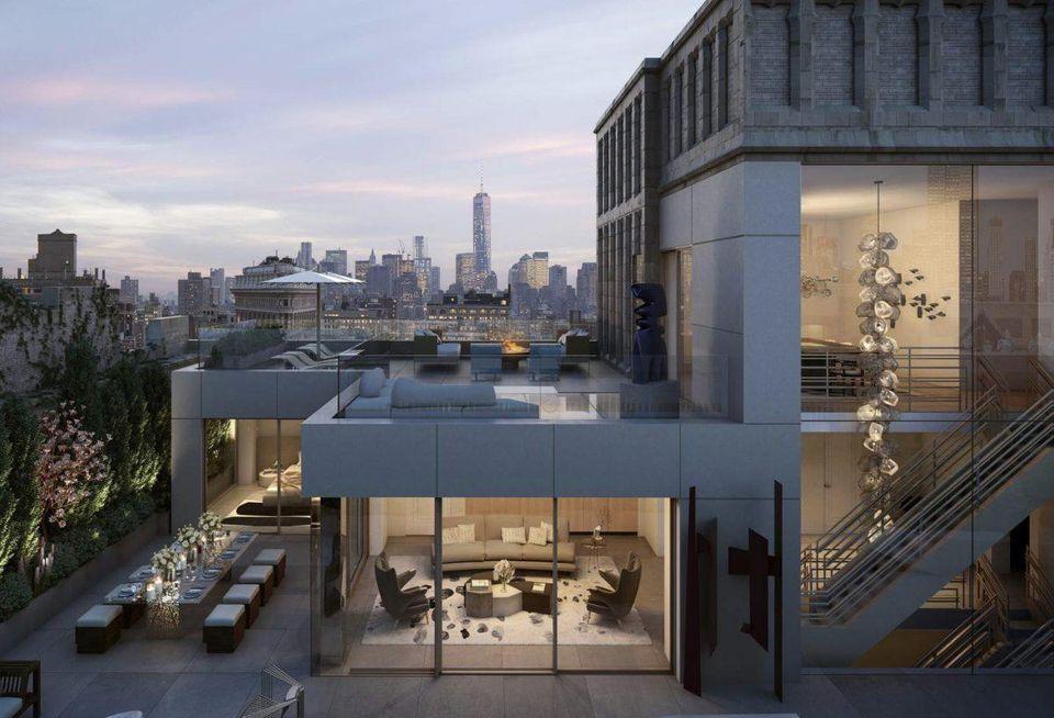 Penthouse za 58 milionů dolarů je jednou ze tří nemovitostí, kterou Jeff Bezos v New Yorku zakoupil.