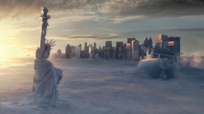 """Takhle tuhých zim se podle aktuálních předpovědí globálního ochlazování v naší generaci už nedočkáme – pokud ovšem nepřijde rychlejší a radikálnější """"zima nukleární"""" (fotka z filmu Den Poté)"""