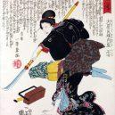 Krásné samurajky se v Japonsku meče rozhodně nebály - Onna_bugeisha_Ishi-jo,_wife_of_Oboshi_Yoshio