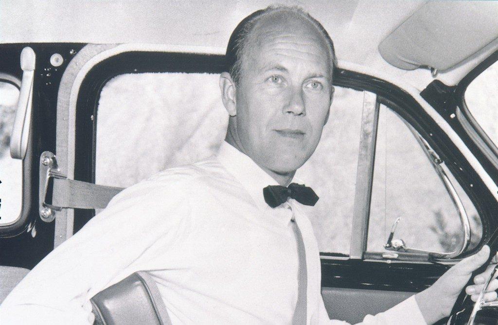 Nils Bohlin svůj život zasvětil bezpečnosti na silnicích