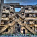 Betonový ostrov Hašima si teď můžete projít na Google Street View - gunkanjima4