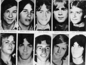 Některé z obětí Johna Wayna Gacyho.