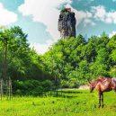 Gruzínský pilíř Katskhi – dávné místo poustevníků - katskhi-pillar