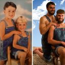 15 důkazů, že nejkrásnější láska je ta sourozenecká - siblings-childhood-photo-recreation-36-58f4b765391d3__700