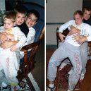 15 důkazů, že nejkrásnější láska je ta sourozenecká - siblings-childhood-photo-recreation-37-58f4ba19afc56__700