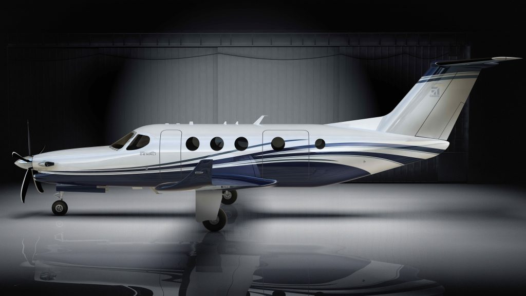 Nový motor z Letňan bude pohánět americký stroj Cessna Denali. V komerčním provozu by se měl objevit na nebi příští rok. Foto: Textron Aviation