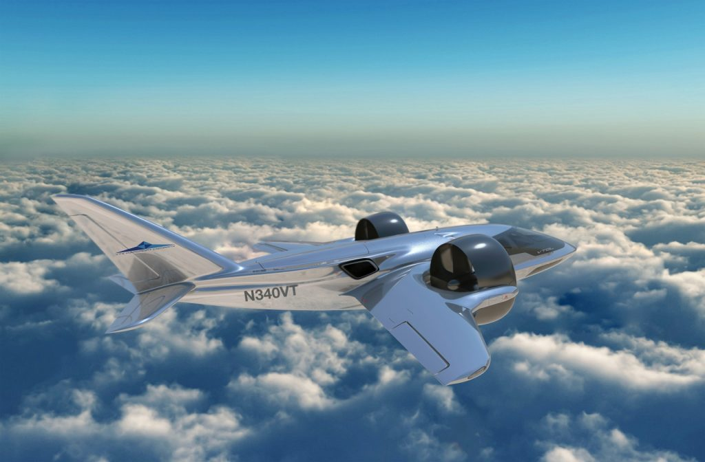 O Catalyst mají zájem i výrobci hybridních letounů. Český motor by měl fungovat na palubě stroje TriFan 600. Foto: XTI Aircraft