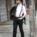 Jak (ne)nosit kšandy? - how-to-wear-suspenders-with-jeans-outfits-mens-style-ideas