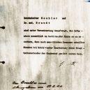 Smrtelná akce T4 mířila na postižené lidi, nevhodné pro nacistické Něměcko - memo-from-hitler
